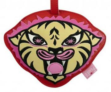 Tiger Funky Animal Luggage Tag