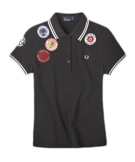 Women's Fred Perry Shirt With Patches