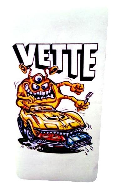 Vette Hot Rod Sticker