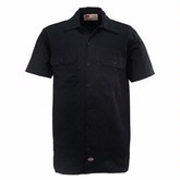 Black Men's Work Shirt
