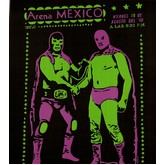 Mexican Wrestling Poster Transfer