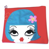 Peggy Flat Makeup Bag