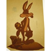 Wile E. Coyote Vintage Transfer