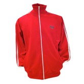Red Twin Tape Men's Track Jacket
