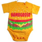 Hamburger Onesie