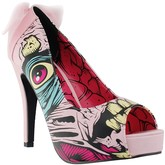 Grave Dancer Peep Toe Platform