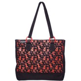 Sourpuss Bettie Page Tote Bag
