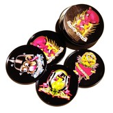 Tattoo Flash Coaster Set