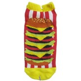 Hamburger Stack Ankle Socks