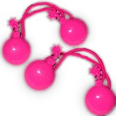 Hot Pink Bomb Hair Bobbles