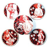 Rockabilly Coaster Set