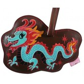 Dragon Funky Animal Luggage Tag