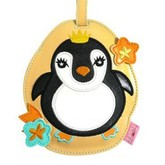 Penguin Funky Animal Luggage Tag