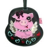 Flying Pig Animal Luggage Tag