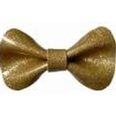 Hello Bow Gold Hairclip