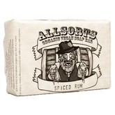 Allsorts Liquor Scented Vegan Organic High Lather Soap- Spiced Rum