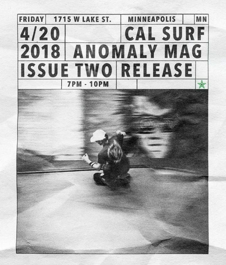 E|News. Anomaly Magazine Release Party