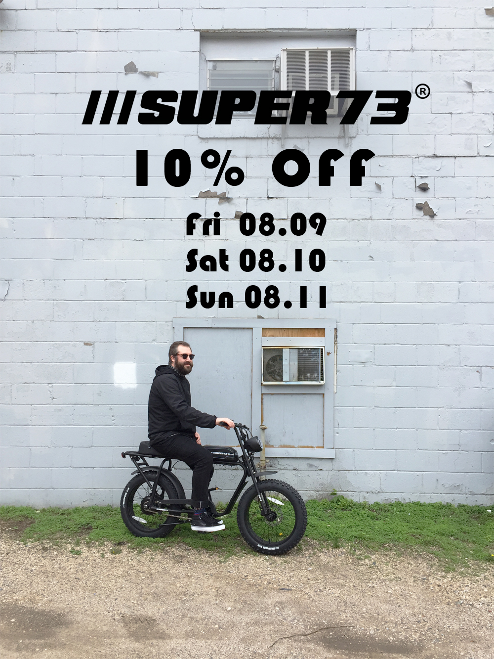 E|News. Super73 Sale This Weekend!