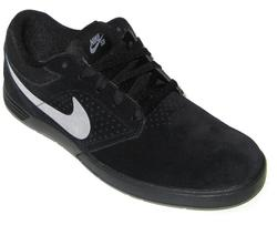 NIKE PAUL RODRIGUEZ 5/BLACK MTT SILVER-WHITE (BLK MTT SILVER-WHITE)