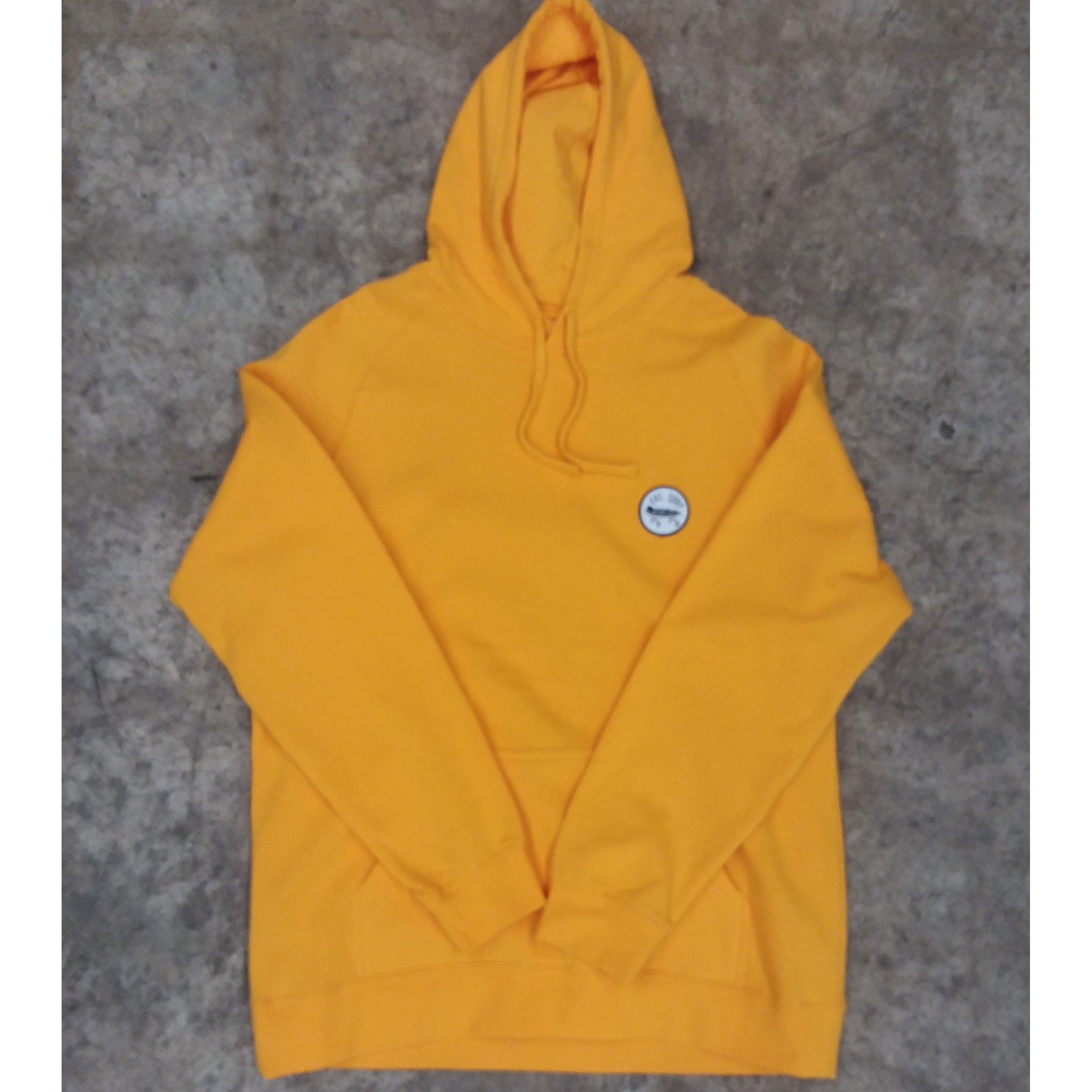 Yellow Patch Hoodie