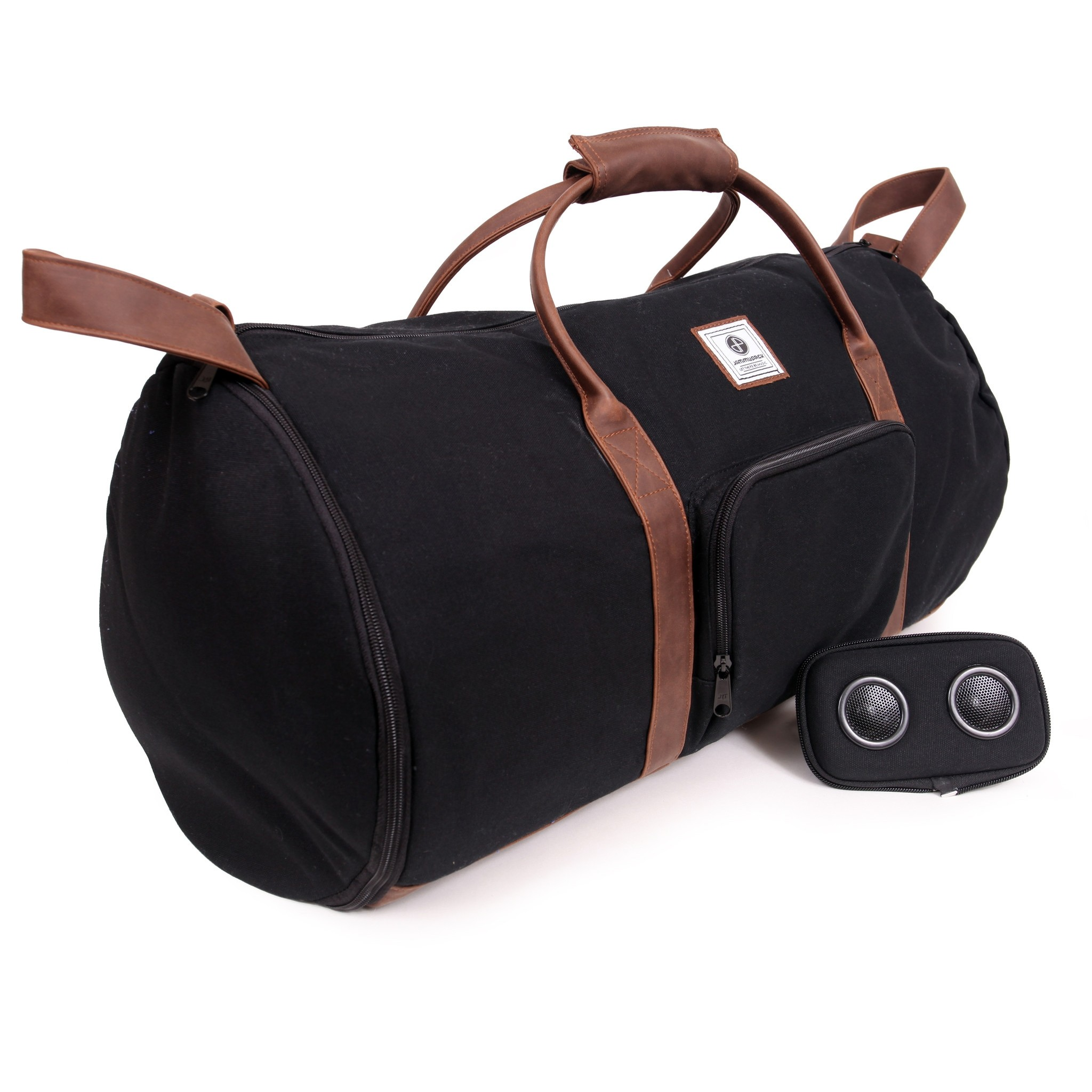 Black/Tan Duffle