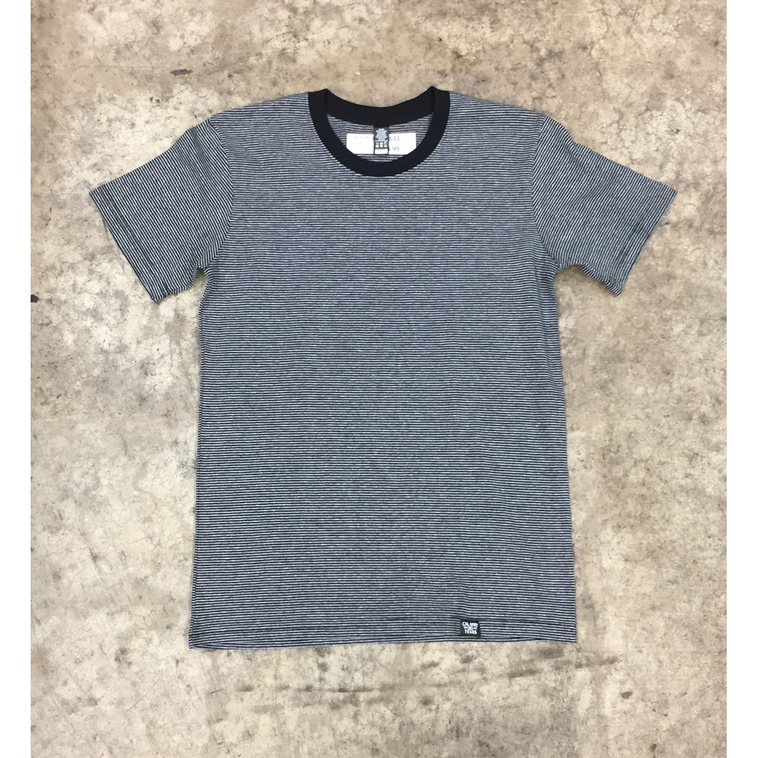 Line Stripe Tee (Black/Grey)