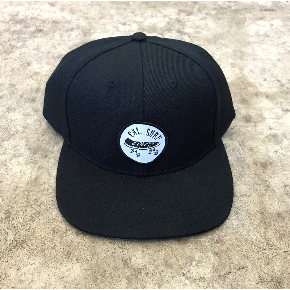 Skate Patch Stock Cap - Black
