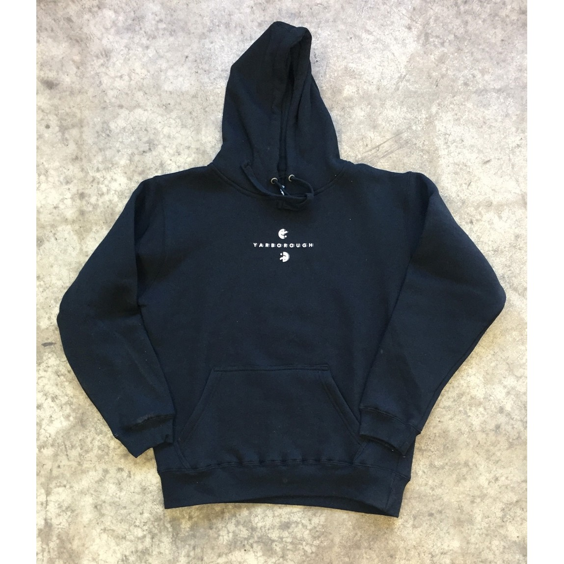 Happy Sad Hoodie - black