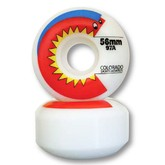 Colorado Skateboards Chomper Wheel (white 56mm)