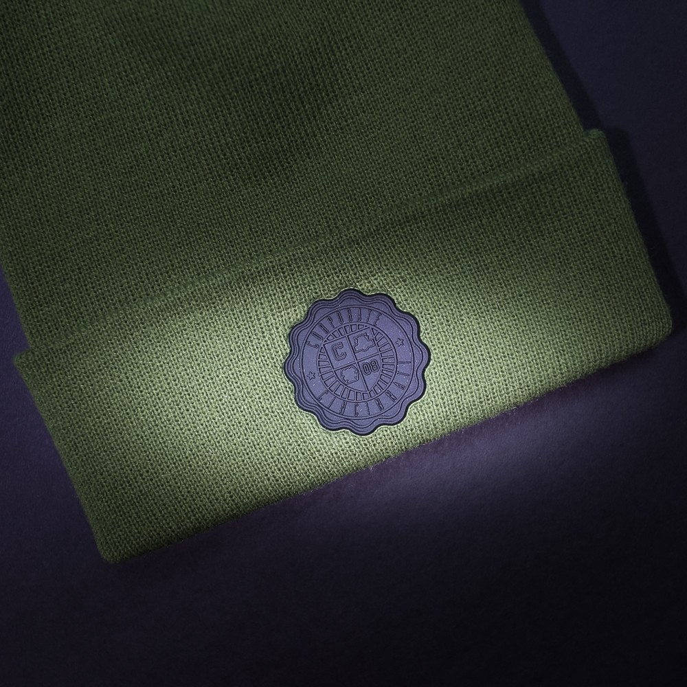 Corporate Crest Knit (Olive)