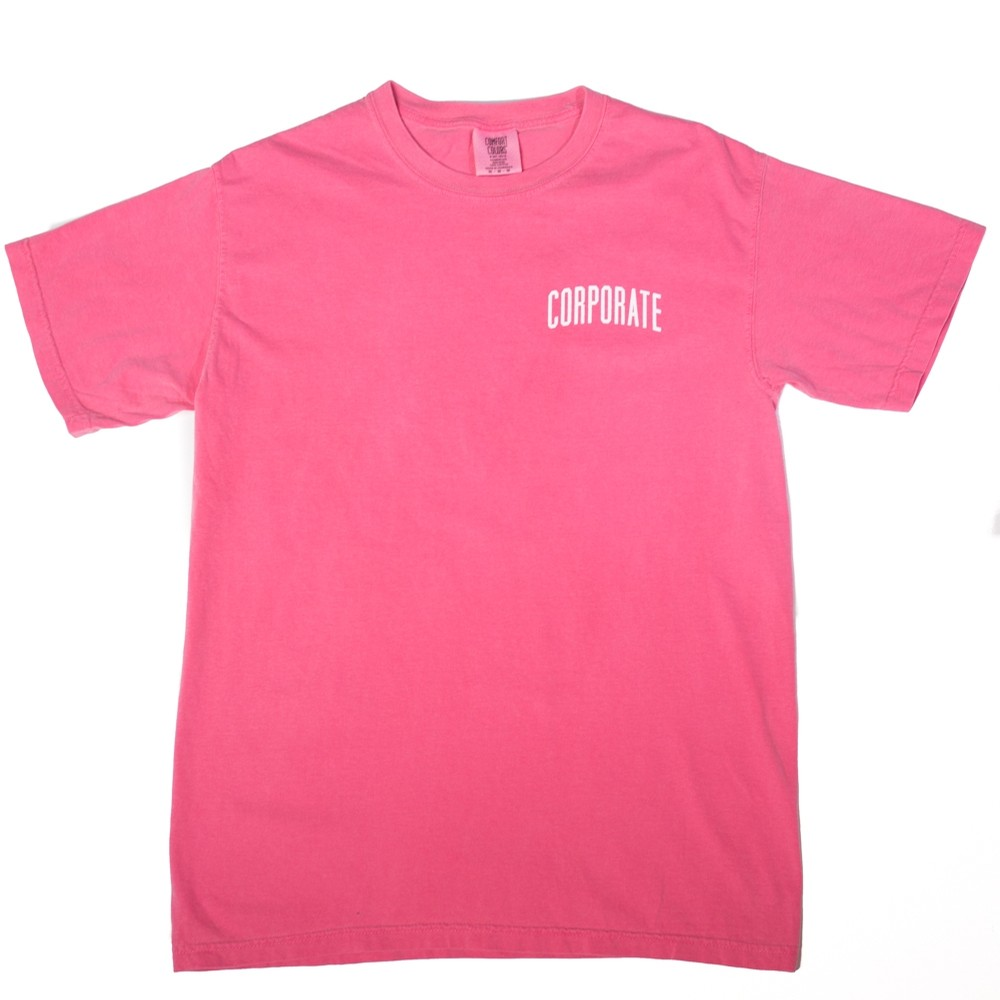 Corporate Washed Tee (Washed Pink)