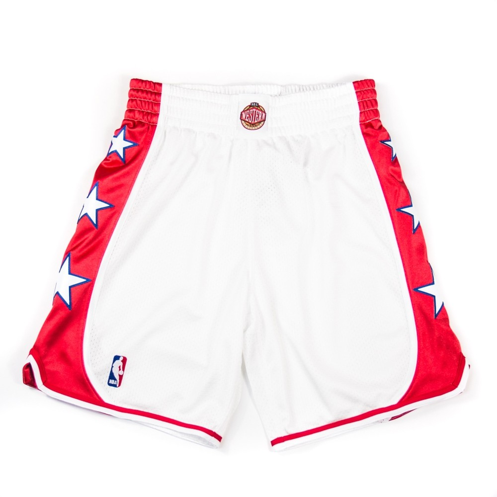 2004 All Star West Authentic Short (White)