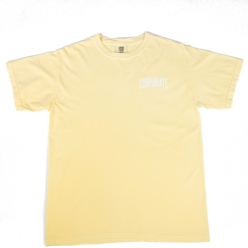 Corporate Washed Tee (Yellow)