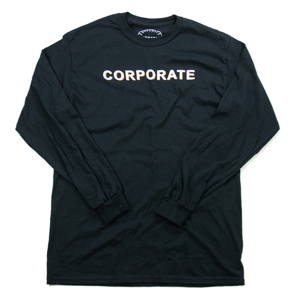 Go-Corp Long Sleeve (Black/Orange)