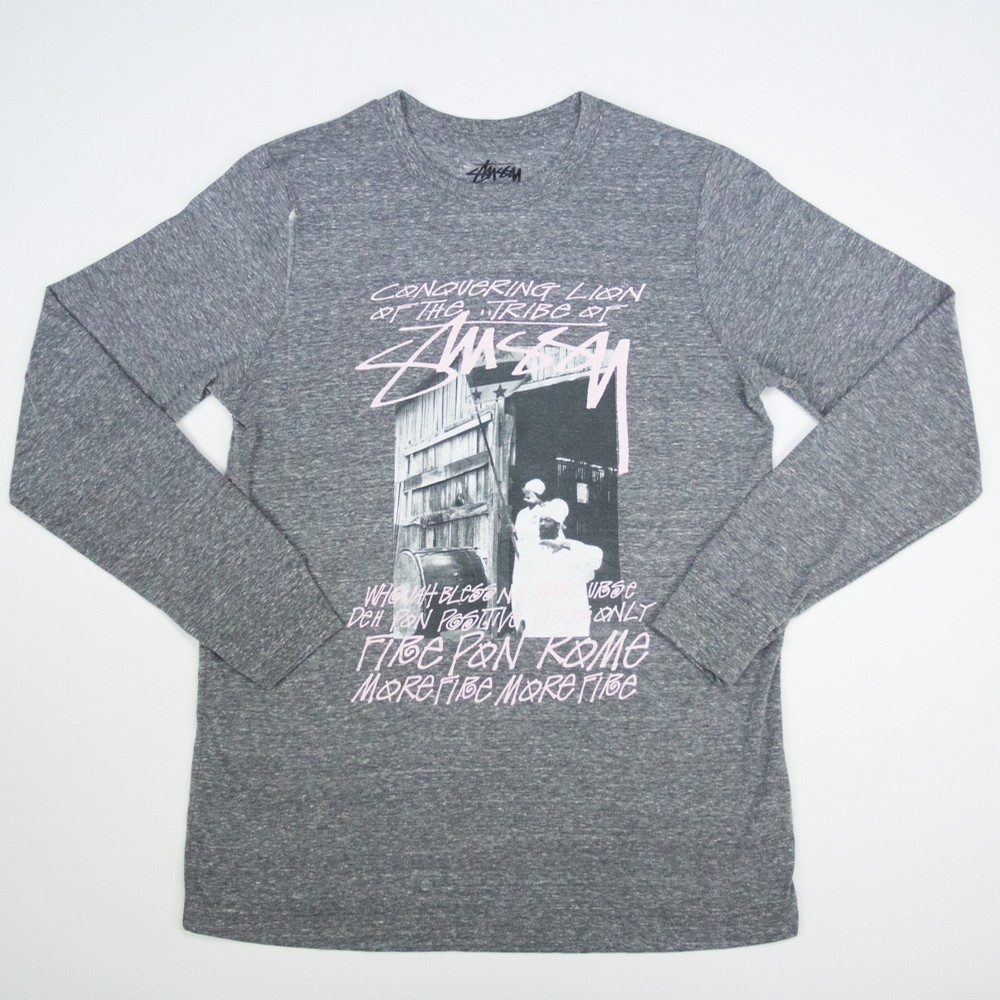 Tribe of Stussy LS Tee (Heather)