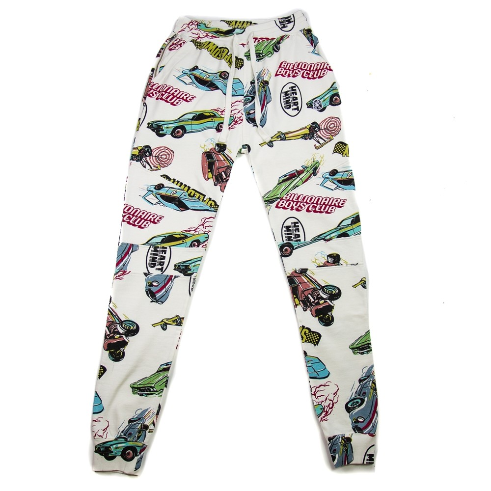 Billionaire Boys Club BBC Speedway Sweatpant (snow white)