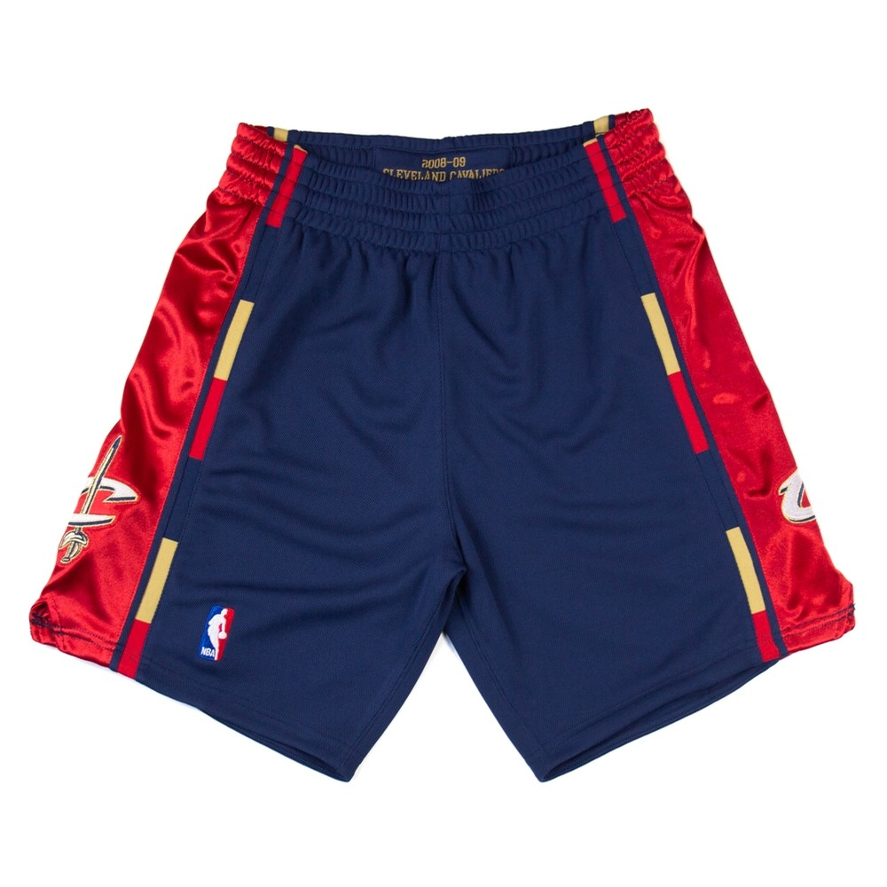 08-09 Cleveland Cavaliers Authentic Short (Navy)