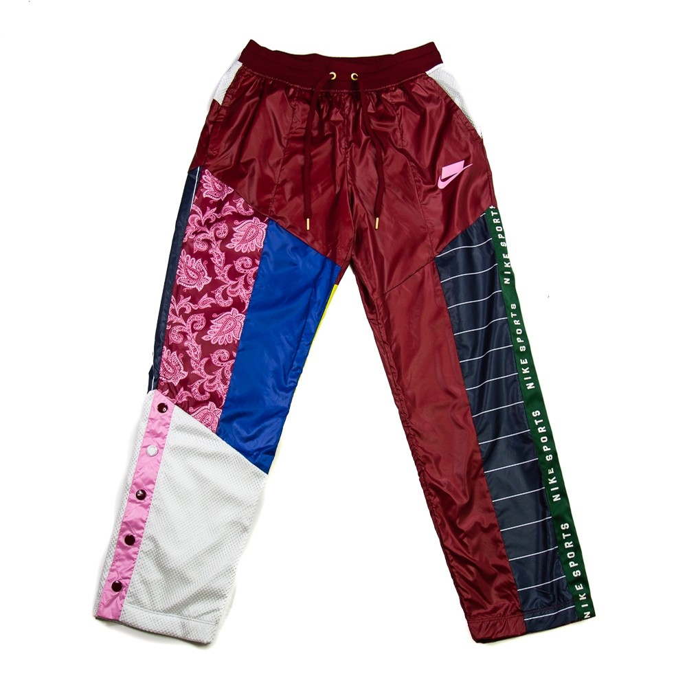 NIKE NSW W Woven Track Pants (Team Red/Pink Rise)