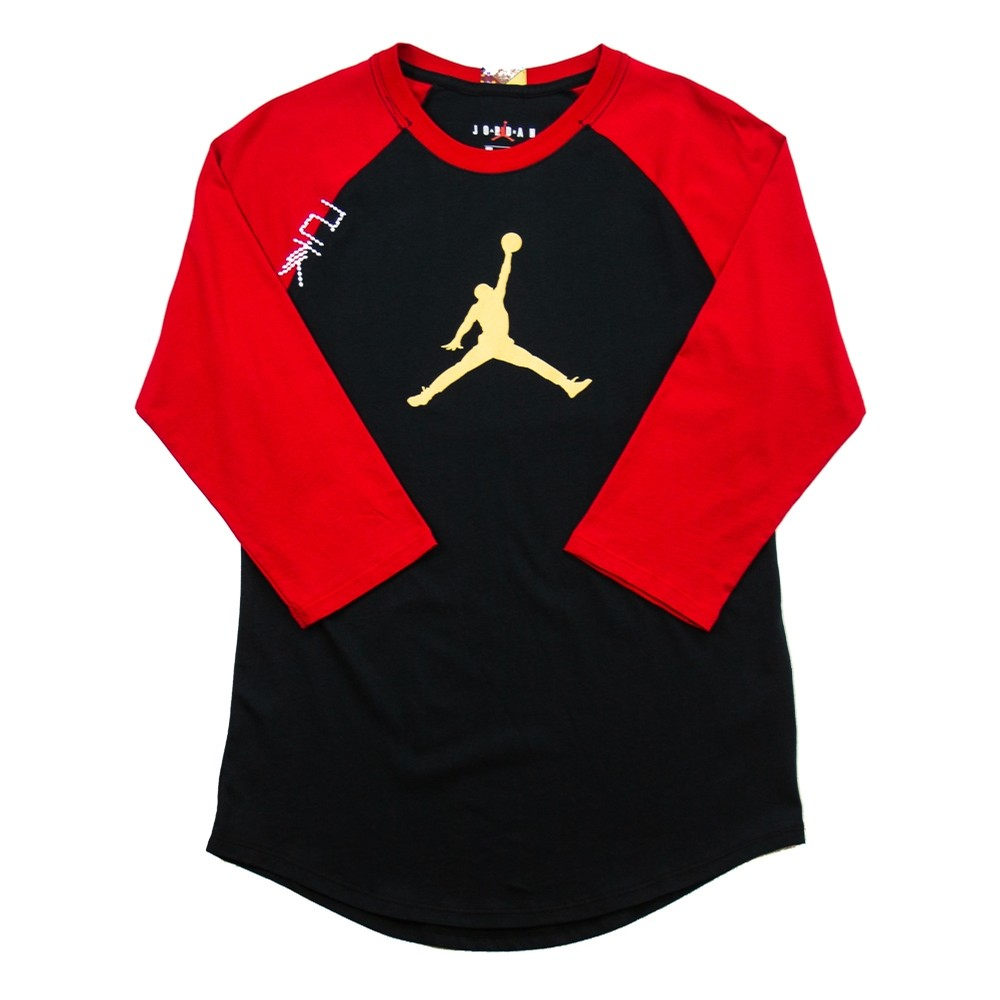CNY 3/4 Sleeve (Black/Red)