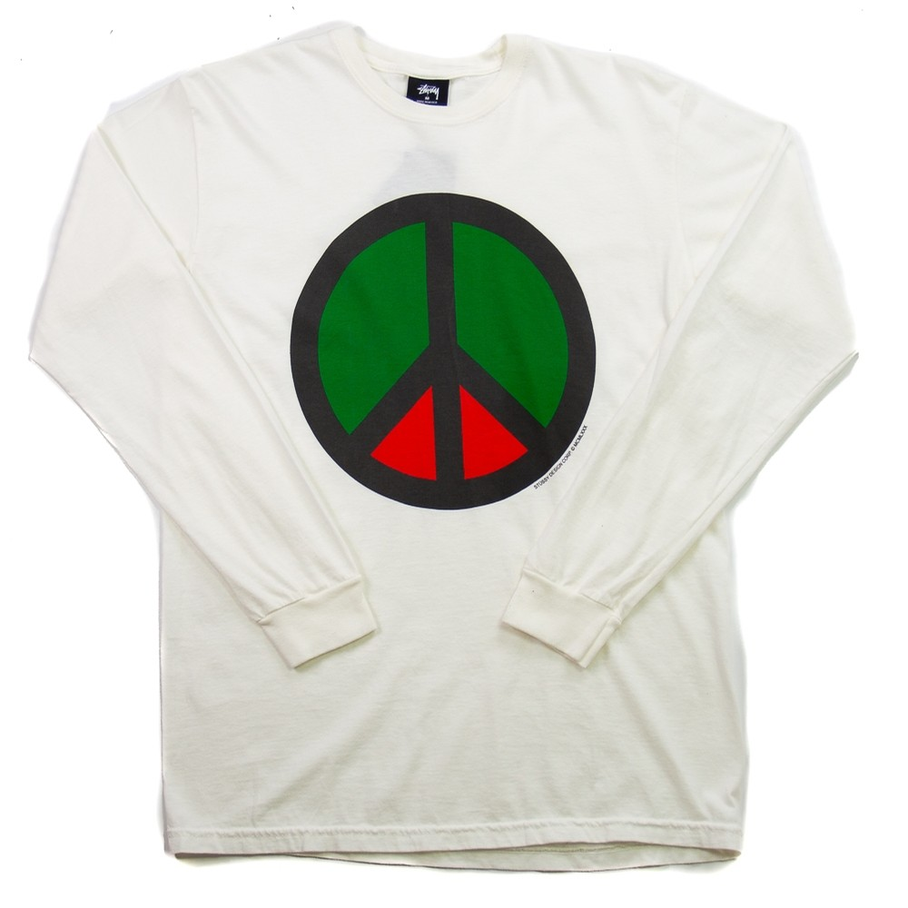 Peace Pig. Dyed LS Tee (Natural)