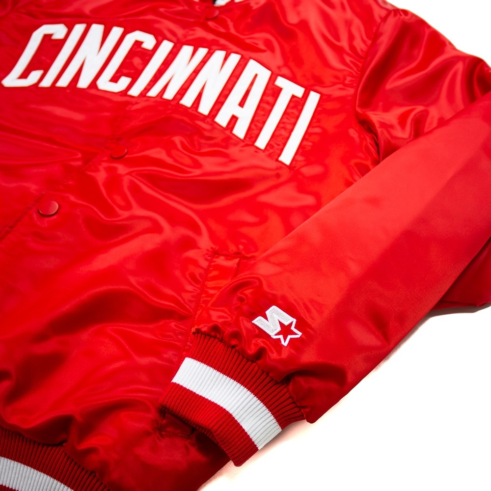 Corporate x Starter Jacket (Reds)