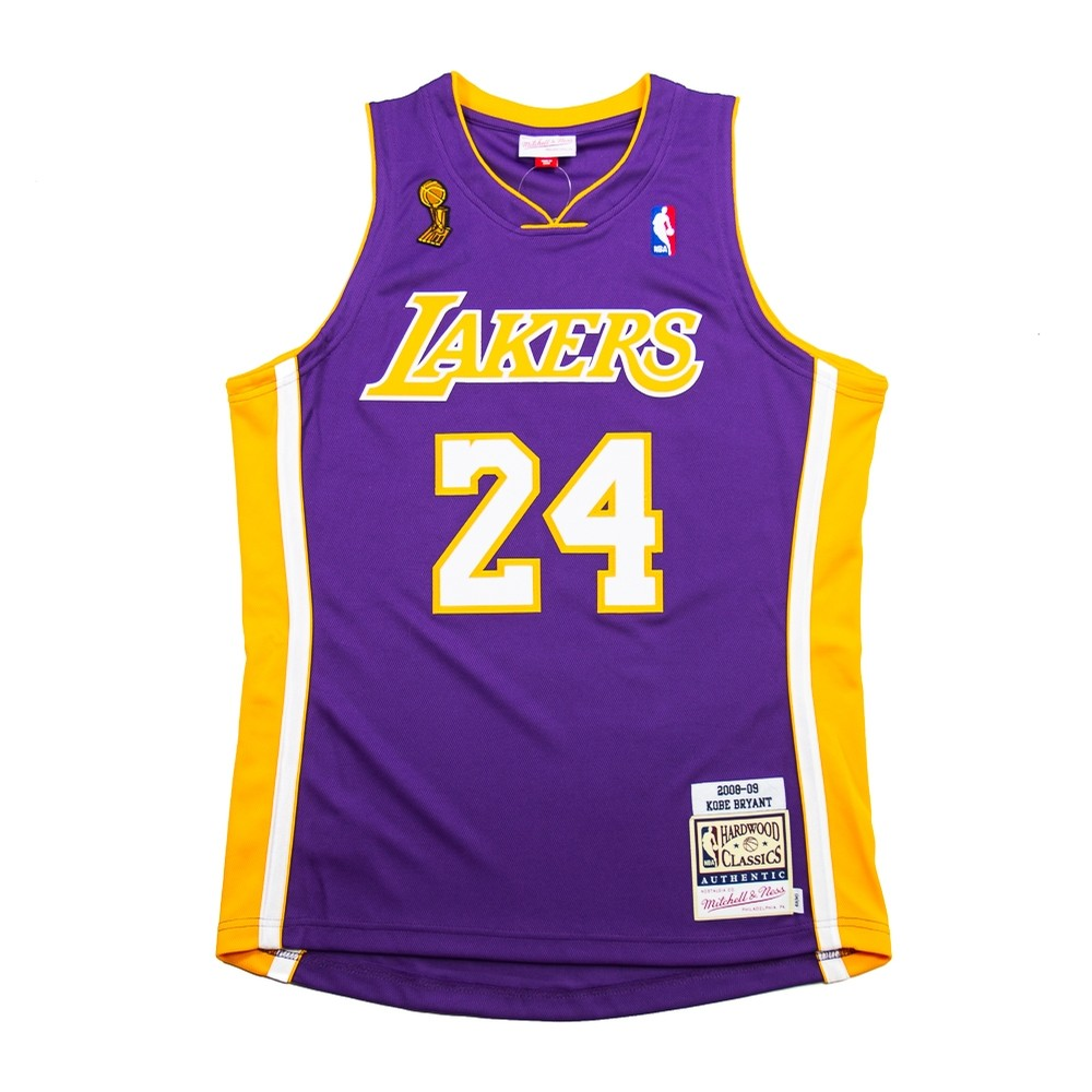 NBA Authentic Road Finals Jersey 08 (Kobe Bryant)