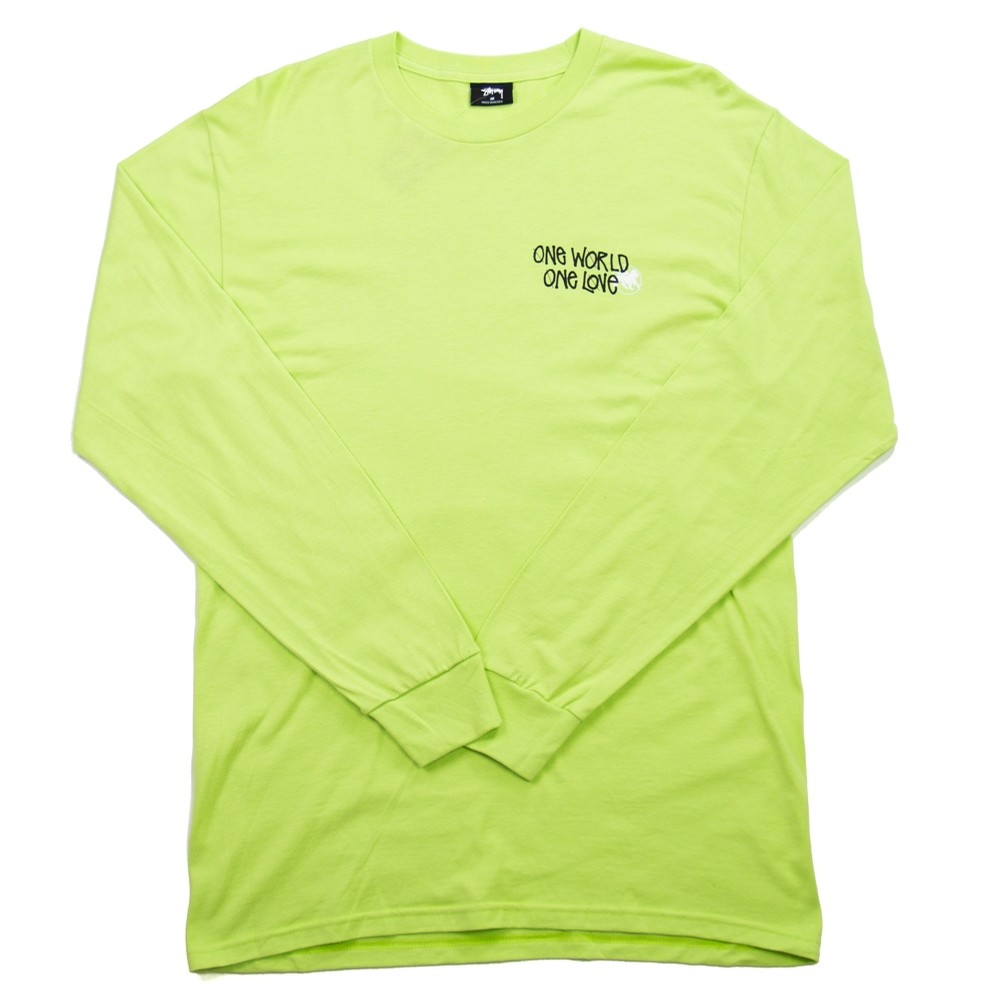 One World LS Tee (Pale Green)