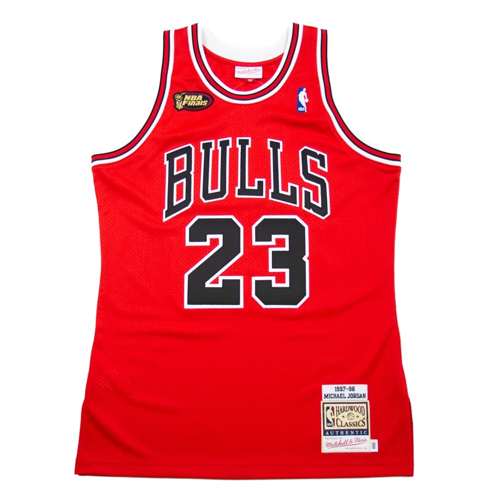 Mitchell   Ness Chicago Bulls 97-98 Authentic Jersey (Michael Jordan ... 06d433dbc