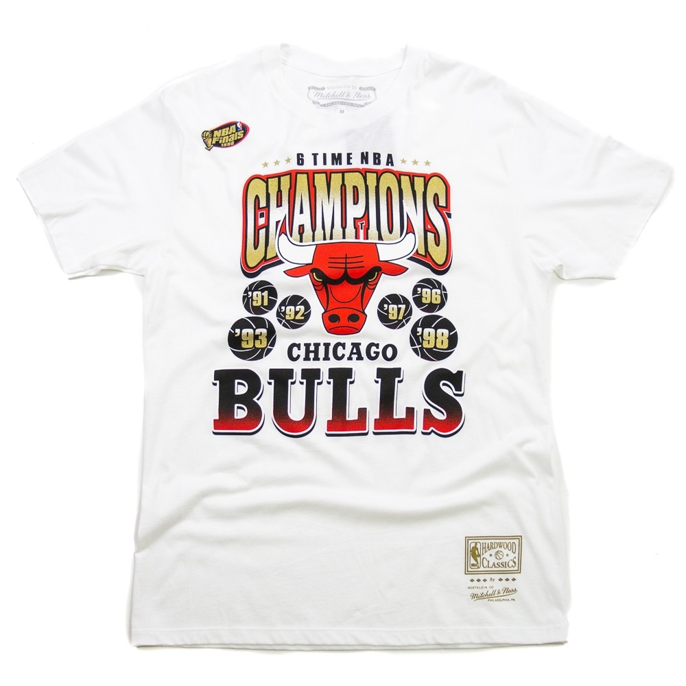 6 Time Gold SS Tee. Mitchell   Ness 554a58a70
