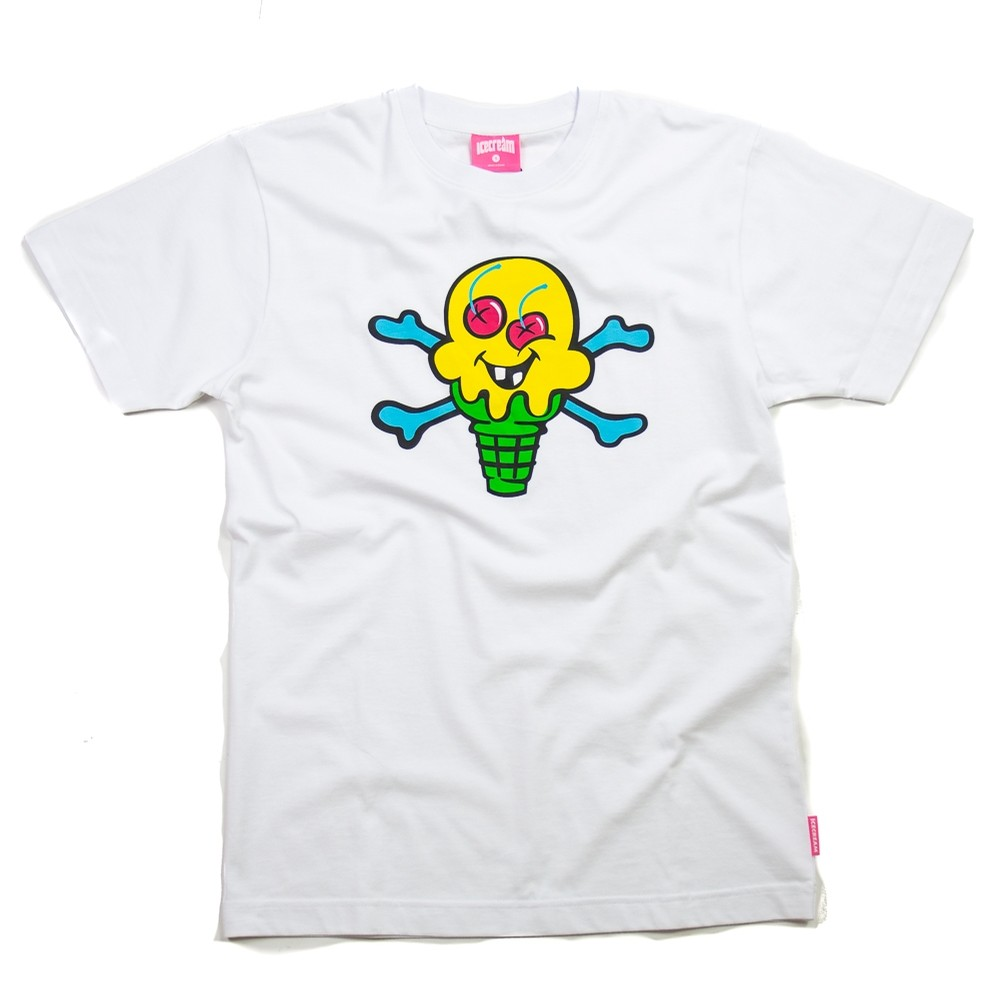 Ice Cream Heath Tee (White)