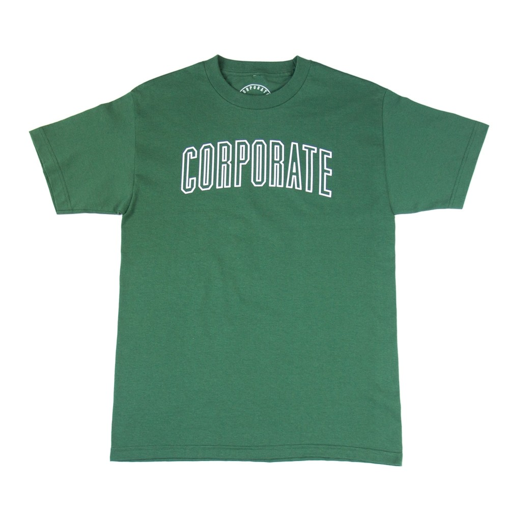 Arch Outline Tee (Green)