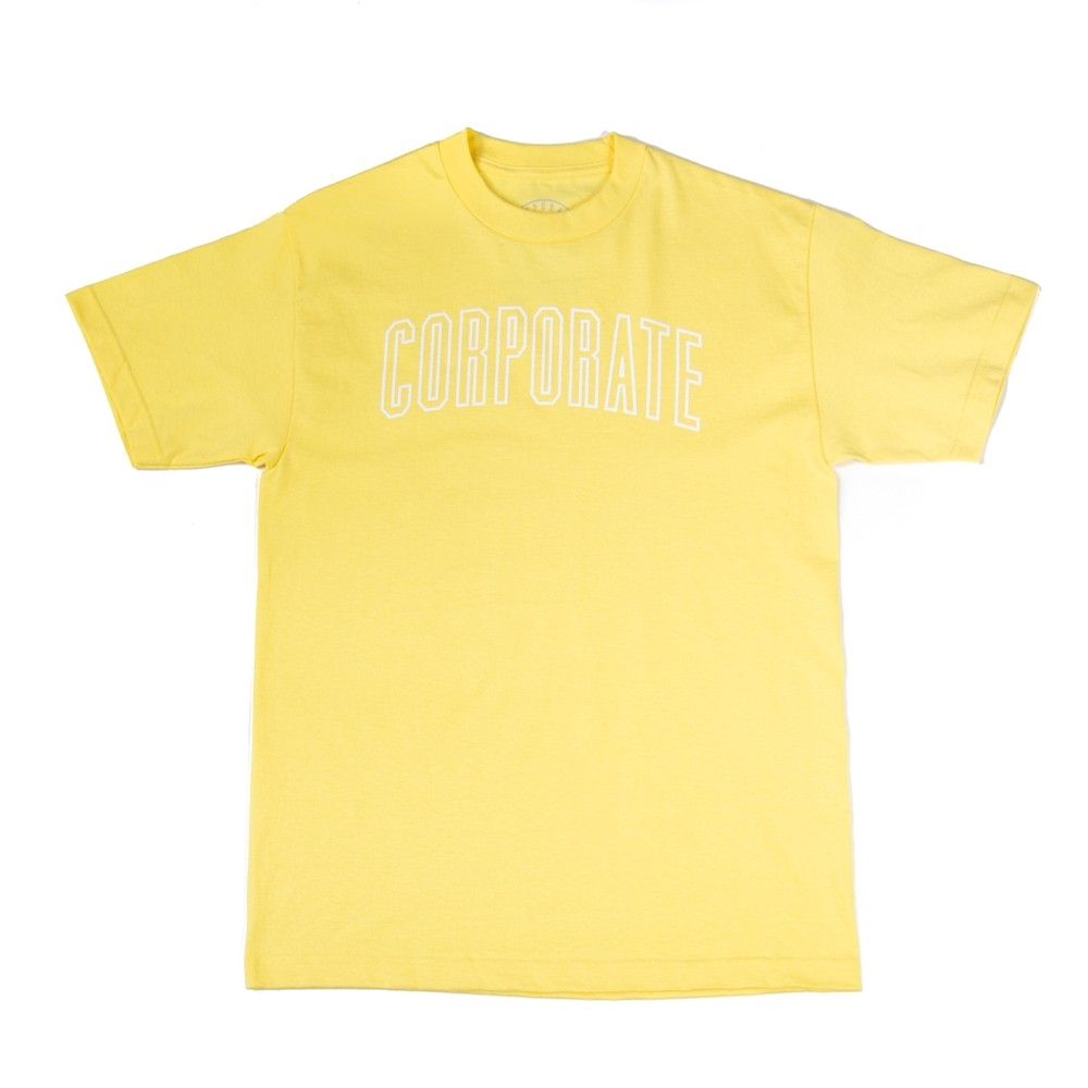 Arch Outline Tee (Yellow)