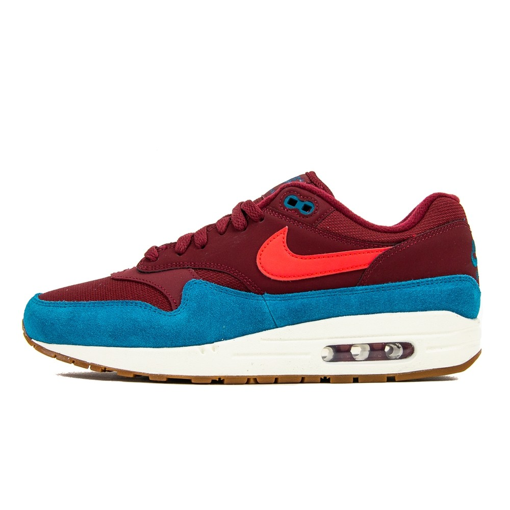 NIKE Air Max 1 (Team Red/Red Orbit/Green Abyss)