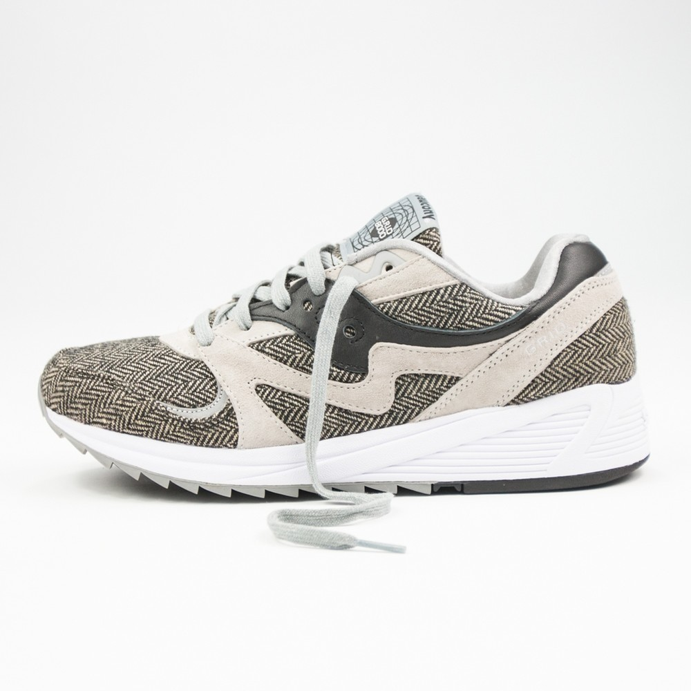Saucony Grid 8000 Classic HT Tailored (Grey)